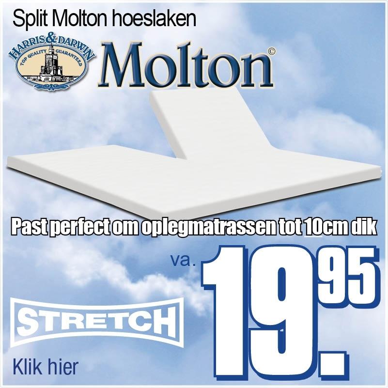 Split Topper Molton