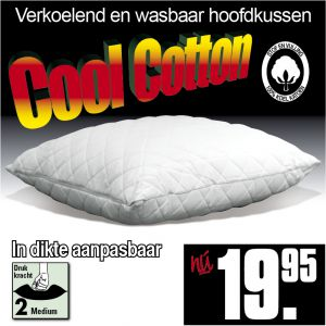 Cool Cotton Hoofdkussen