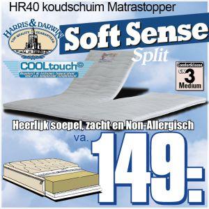 SoftSense SPLIT-Topper HR40 Koudschuim