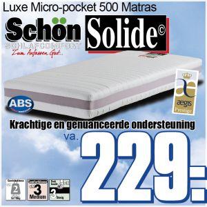 7-Zone Micro Pocketmatras SOLIDE©SCHON