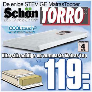 TORRO Stevige Matras Topper