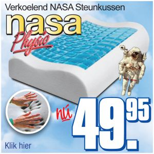 Nasa Cool Gel-Pads steunkussen Physio