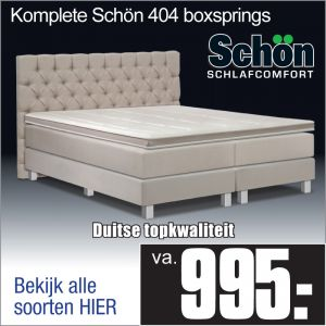 Complete Luxe Boxspring Schön 404