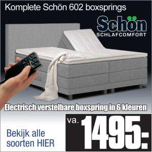 Komplete Elektrische Boxspring Schön 602