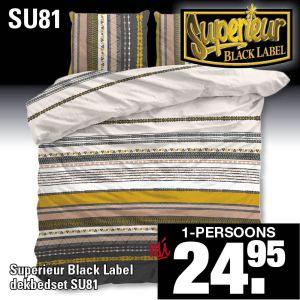 Superieur Dekbedovertrekset SU81