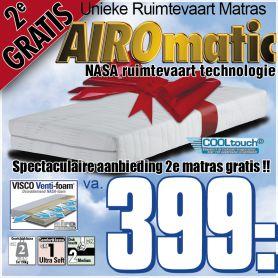 AiroMatic Pocket Nasa Matras 2e GRATIS